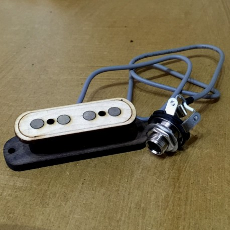 Pre-wired vintage Pickup single coil 4 ploes