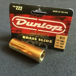 Dunlop 222 Brass Slide Guitar long