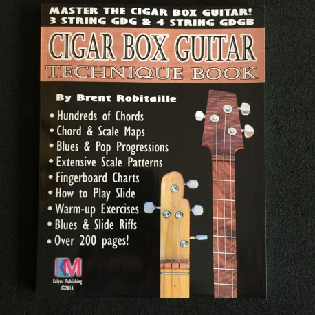 Master Cigar Box Guitar 3 string and 4 string