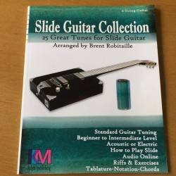 Slide guitar collection 6 string