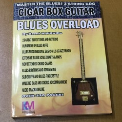 Blues Overload Technique et tablature Cigar Box Guitar 3 cordes