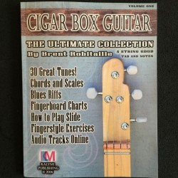 Méthode et tablatures Cigar Box Guitar 4 cordes format PDF