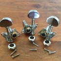 3 Machine Heads chrome open gear