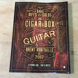 3 string cigar box guitar riff and solo