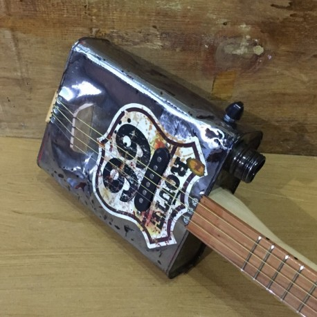 Oil can Guitar Route 66 4 string