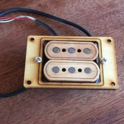 double single coil Pickup 3 poles