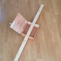 Kit Cigar box Guitar vissable 4 cordes