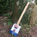 Oil can Guitar 4 string