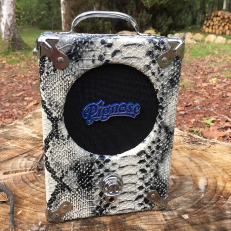 Pignose Amp Legendary 7-100 snake skin + adaptor