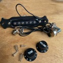 Pre-wired single coil pickup