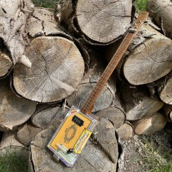 CigarboxGuitar Roots Partagas 3 Strings