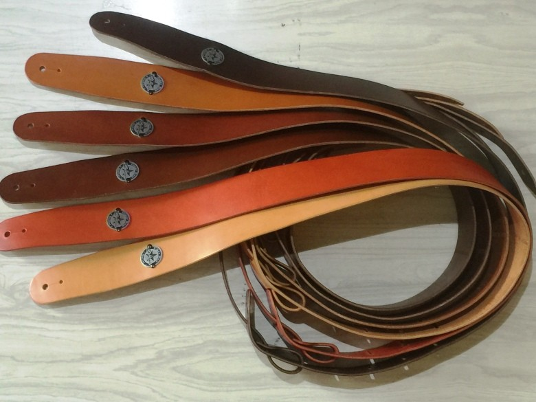 Leather straps Made in France handcrafted - Vegetable tanning