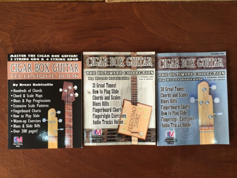 The easy way to play the Cigar Box Guitar 3 or 4 string
