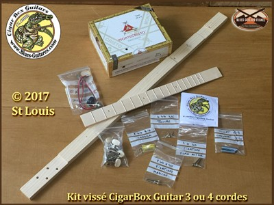 ©Copyright 2014 St LouisScrewed Cigarbox Guitar Kit